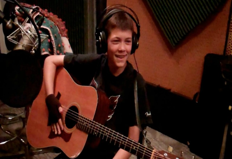 Singing: It Brings Me Joy - Nathan in studio blog - Singing: It Brings Me Joy