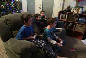 Yes or No? ~Parent Choices - Boys playing video games blog 300x205 - Yes or No? ~Parent Choices