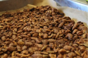 Roasted Maple Nuts - Baked Maple Nuts 300x199 - Roasted Maple Nuts