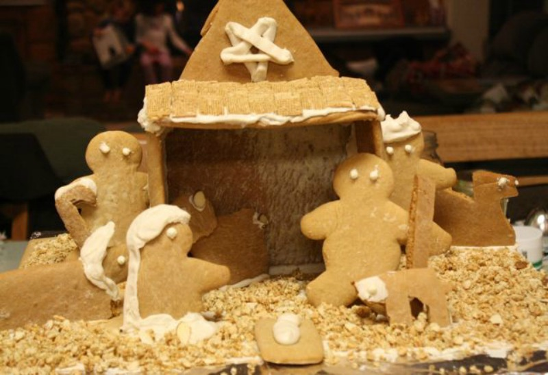 What We Learned This Christmas - Gingerbread Nativity blog - What We Learned This Christmas