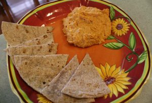 Fast, Fresh, Mouthwatering Hummus - Hummus and tortilla blog 300x205 - Fast, Fresh, Mouthwatering Hummus