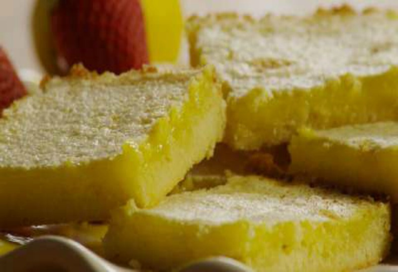 Essentially Healthy Lemon Bars - Essential Lemon Bars blog - Essentially Healthy Lemon Bars