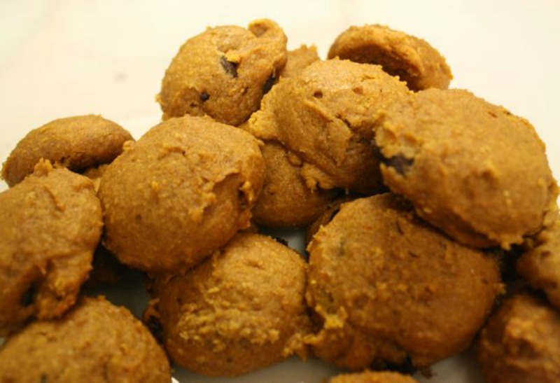 Jenni's Favorite Healthy Pumpkin Cookies - Pumpkin cookies baked blog - Jenni's Favorite Healthy Pumpkin Cookies