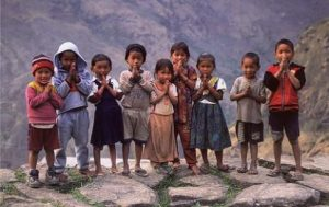 doTERRA Teams Up With CHOICE Humanitarian - Children in Nepal praying hands e1459975739942 300x189 - doTERRA Teams Up With CHOICE Humanitarian