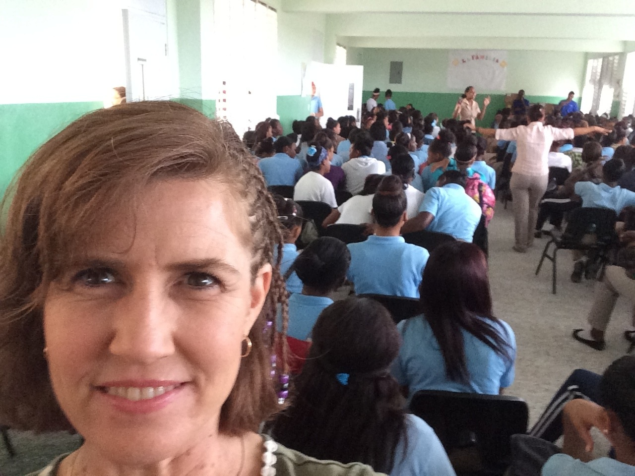 Days For Girls Experience in Dominican Republic - Jenni School DR2 - Days For Girls Experience in Dominican Republic