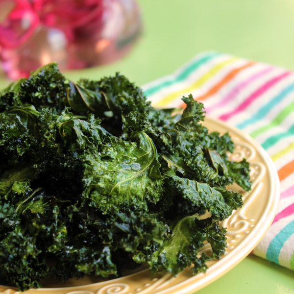 Essential Oil Infused Kale Chips