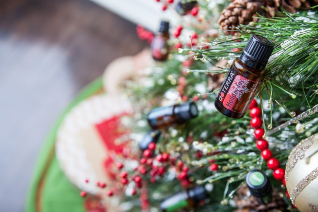 doTERRA Christmas Party/Class on Facebook! - Oils on Tree 3 2 - doTERRA Christmas Party/Class on Facebook!