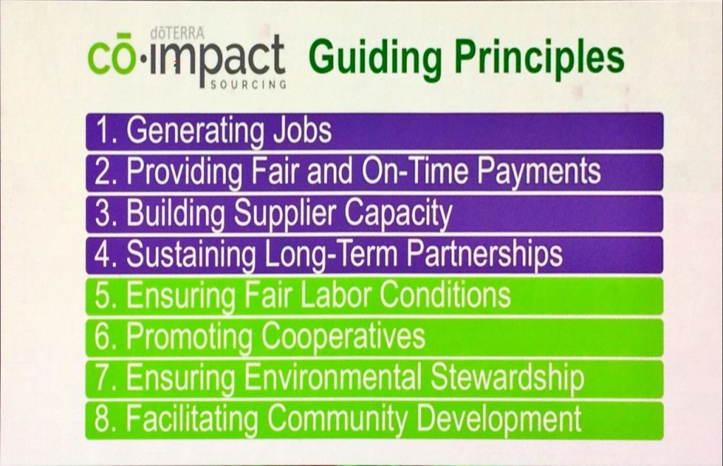 doTERRA's Co-Impact Sourcing - Co Impact Sourcing Principles 1024x661 - doTERRA's Co-Impact Sourcing