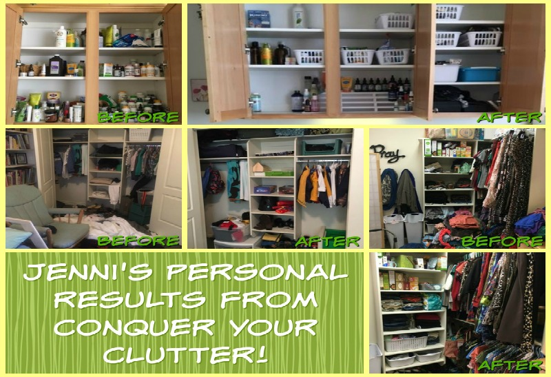 Results of Conquering my Clutter! - Conquer your clutter jennis house blogg pic - Results of Conquering my Clutter!