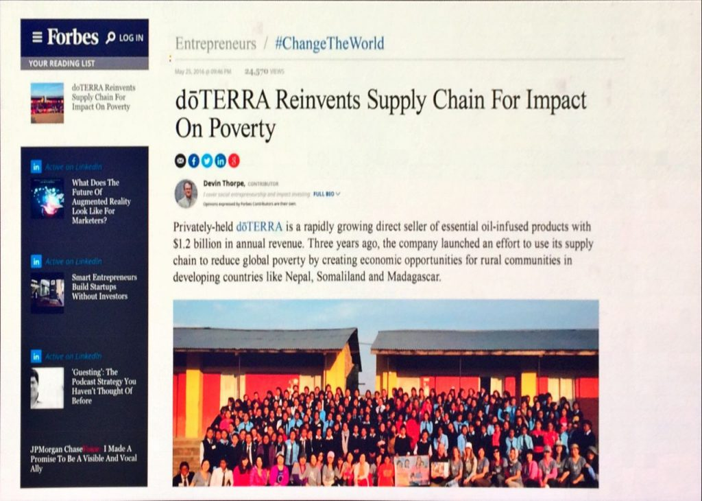 doTERRA's Co-Impact Sourcing - doTERRA Reinvents Supply Chain for impact on poverty 1024x730 - doTERRA's Co-Impact Sourcing